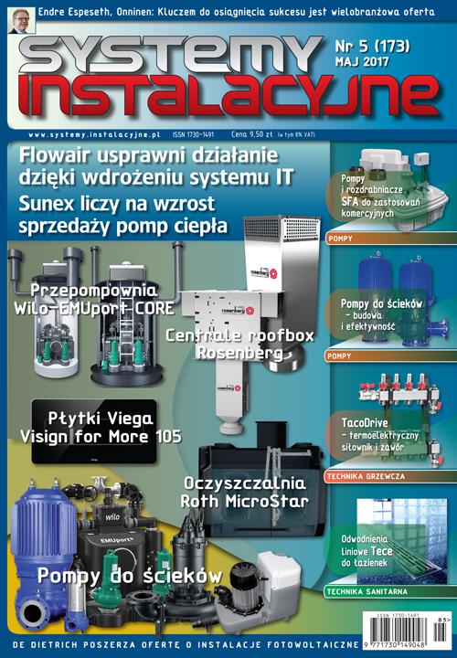 Systemy Instalacyjne 05/2017