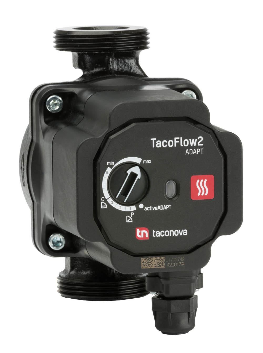 Najważniejszą tegoroczną nowością w ofercie firmy są wysokowydajne pompy obiegowe TacoFlow2 Adapt