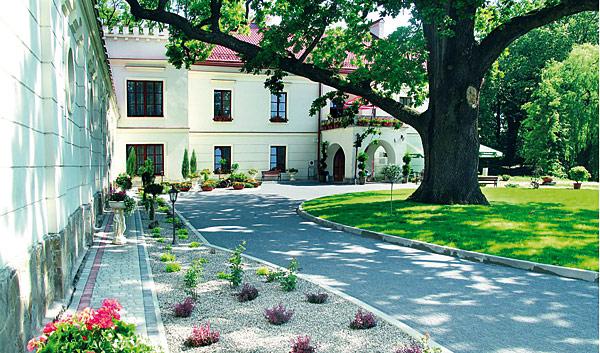Nowo wybudowana część hotelowa w Zamku Dubiecko (fot. archiwum Zamku Dubiecko)