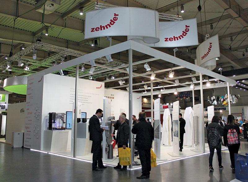 Stoisko firmy Zehnder