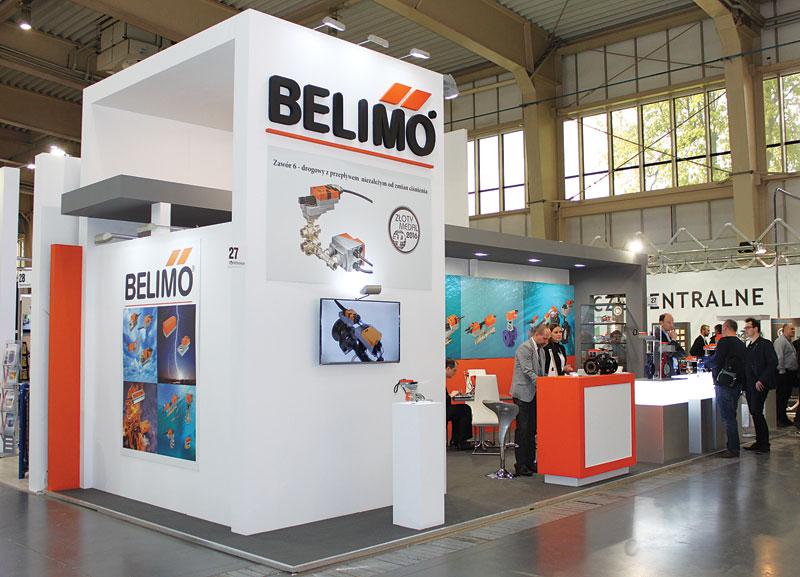 Stoisko firmy Belimo