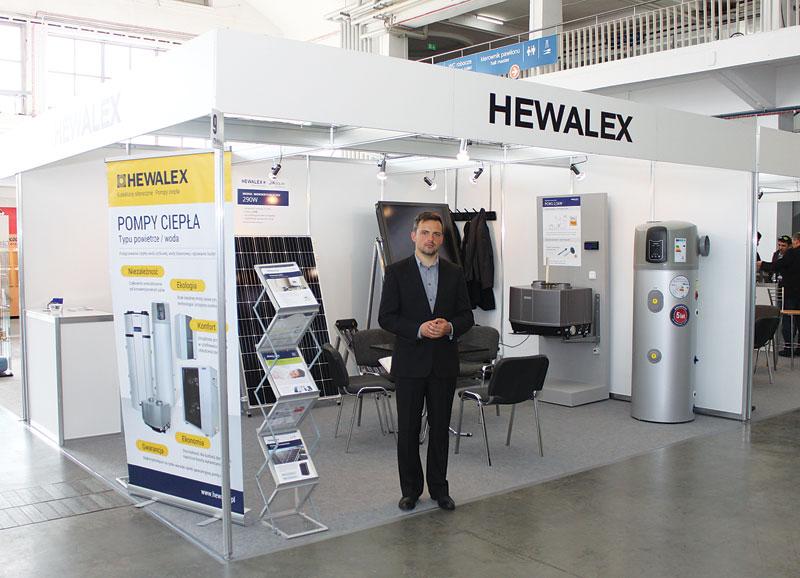 Stoisko firmy Hewalex