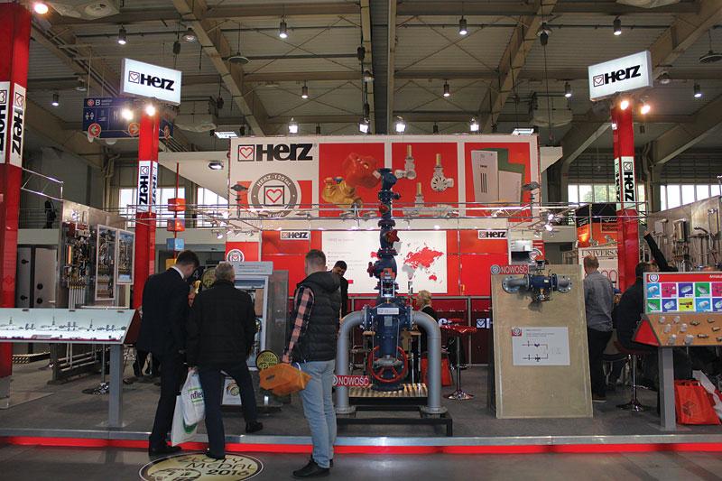 Ekspozycja firmy Herz