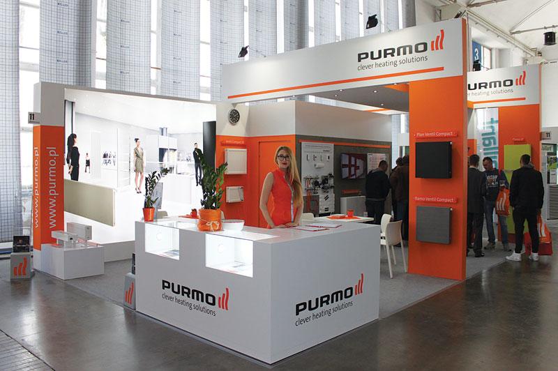 Stoisko firmy Purmo