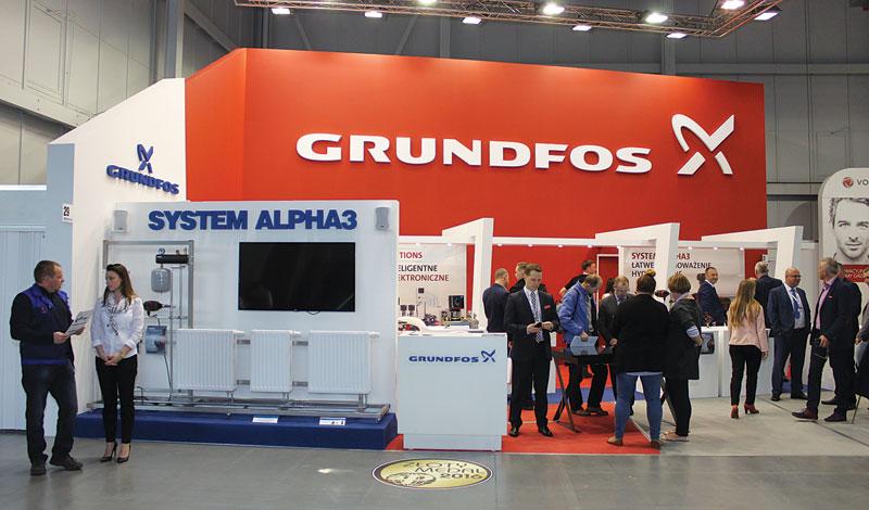 Ekspozycja firmy Grundfos