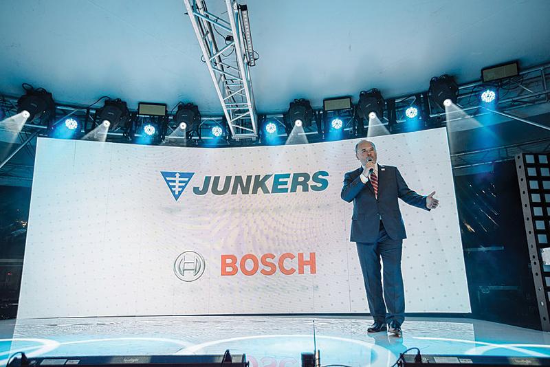 Premiera nowej generacji kotłów Bosch Condens 9000i odbyła się w warszawskim klubie The View
