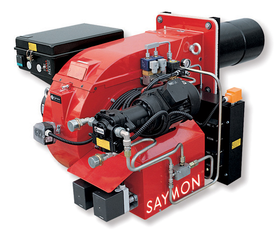Palnik uniwersalny firmy Saymon typu FDP  zapewniający moc od 137 do 1705 kW