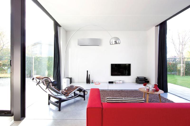 Systemy klimatyzacyjne mogą stanowić jedyne źródło ciepła w domach i mieszkaniach