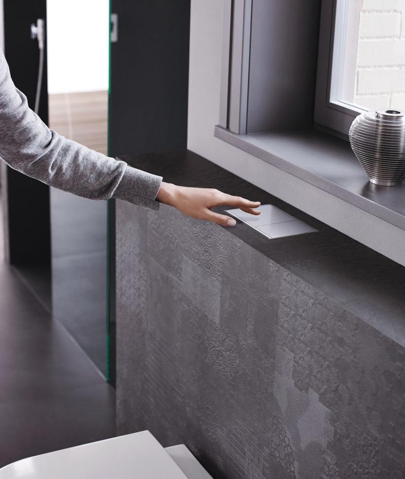 Rys. 5. Niski stelaż podtynkowy bardzo dobrze sprawdza się, gdy WC będzie umieszczone pod oknem