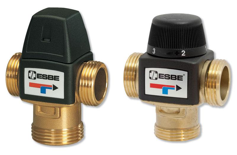 Rys. 1. Przy modernizacji lub remoncie instalacji często stosowane są zawory termostatyczne – ze względu na ich korzystną cenę, łatwość montażu i samodzielne działanie