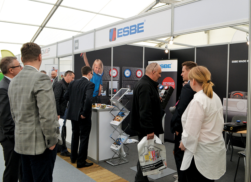 Stoisko firmy ESBE