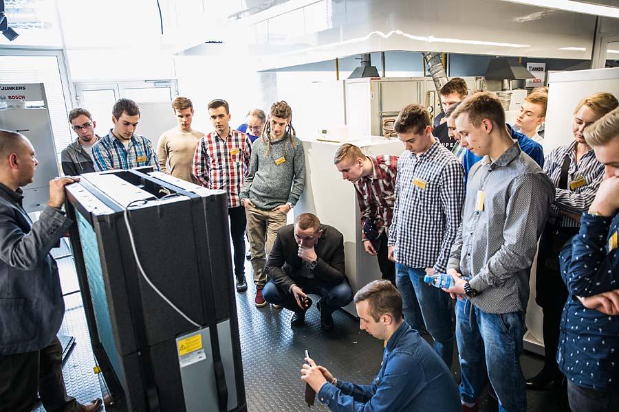 Szkolenie z pomp ciepła dla uczestników programu Junkers Szkoli