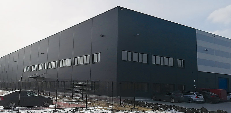 Wspólna siedziba firm Zymetric, Aircon i Nabilaton mieści się przy ul. Okólnej 45 w Markach koło Warszawy