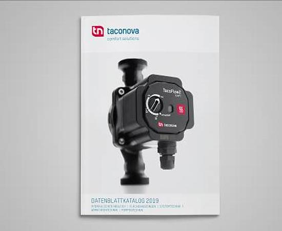 Nowy katalog na rok 2019 zawiera teraz kompletną ofertę firmy Taconova ze wszystkich obszarów produktowych, włącznie z całym asortymentem pomp