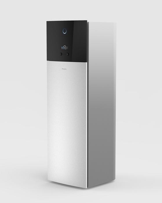 Gama urządzeń grzewczych Daikin trzeciej generacji Daikin Altherma 3 charakteryzuje się stylowym, nowoczesnym wyglądem