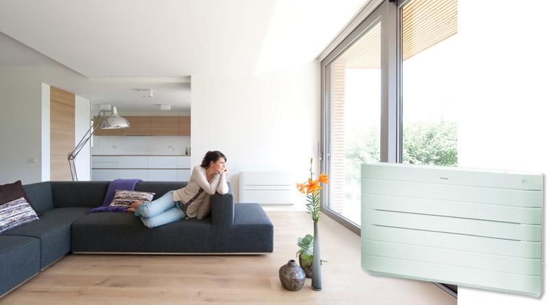 FVXG-K firmy Daikin – podłogowa jednostka klimatyzacyjna mogąca także efektywnie ogrzewać pomieszczenia