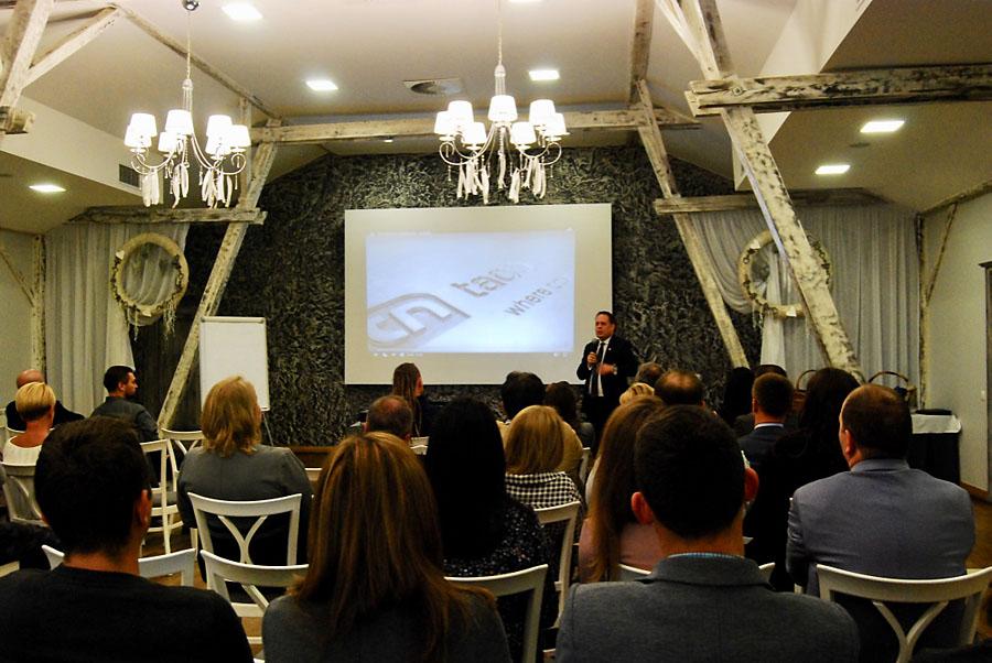 Przemówienie Krzysztofa Janowskiego, prezesa Taconova Polska